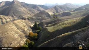 مناظر طبیعی از استان اردبیل