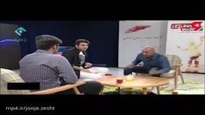 سر «علی ضیاء» در برنامه زنده به میز خورد!