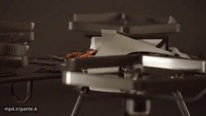 ربات پرنده جدید با موتور های گردان در هوا