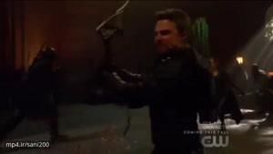مبارزات تن به تن و هیجانی در آخرین قسمت از فصل ۵ سریال Arrow