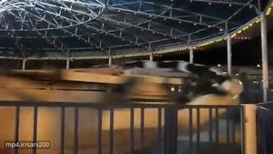سریعترین و وحشتناکترین دستگاه یک شهربازی که به سرعت ممنوع الاستفاده شد