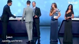 کریس رونالدو بازیکن سال اروپا شد