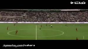 گل استثنایی سامان قدوس در لیگ سوئد