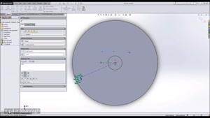 روش طراحی پروانه یک کمپرسور سانتریفوژ در سالیدورکز