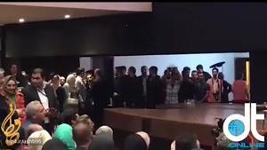 صحبت های محمدعلی کشاورز بعد از دریافت جایزه در جشن حافظ96