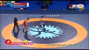 پیروزی قاطع حسن یزدانی با نتیجه ۱۰ بر صفر