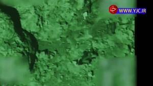 نابودی داعشیها با موشکهای هلی کوپتر