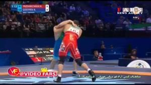 پیروزی حسن یزدانی در گام سوم