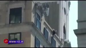 خودکشی دردناک یک زن از پشت بام هتل