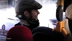 سورپرایز کردن راننده اتوبوسی که تولدش بود