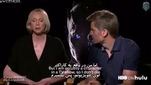 گفتگوی جالب وب سایت معتبر هولو با بازیگران سریال بازی تاج و تخت