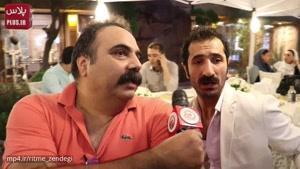 شوخی بامزه جواد رضویان با ازدواج غیرمنتظره نرگس محمدی و علی اوجی