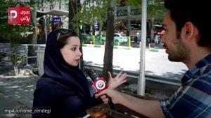 کتک کاری خیابانی دو زن ایرانی وقتی رابطه مخفیانه شوهر با دوست دخترش لو رفت