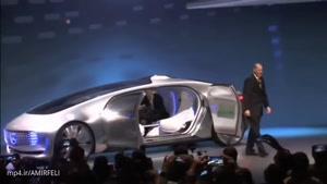 آخرین نوع اتومبیل خودکار در نمایشگاه صنایع الکترونیکی در لاس وگاس