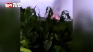 فیلم: ارتش میانمار اموال مسلمانان را به اتش کشید