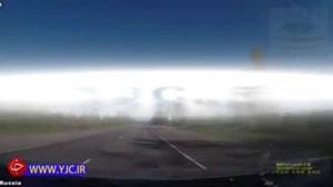تصادف قابل پیشگیری دو خودرو در جاده