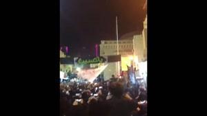 مراسم برافراشته شدن پرچم عزای امام حسین(ع) در بحرین