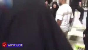 فیلمی دیده نشده از دختربچه شفا یافته ایرانی در حرم امام حسین (ع)