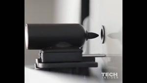تخته وایت برد روباتیک اتوماتیک پیام می نویسد