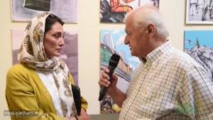 گفتگوی اکبر عالمی با هدیه تهرانی سوپراستار سینمای ایران