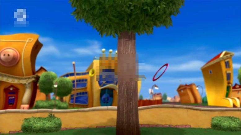 انیمیشن آموزش زبان انگلیسی Lazy town قسمت هشت