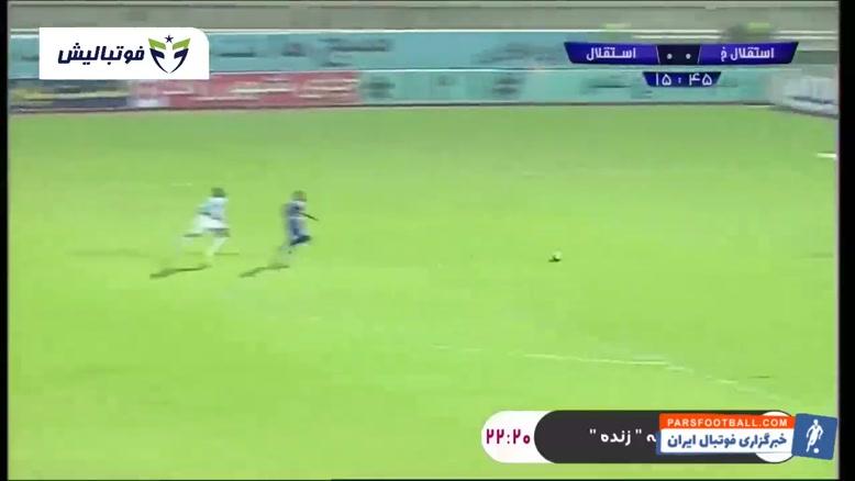 خلاصه بازی استقلال خوزستان ۰-۱ استقلال تهران