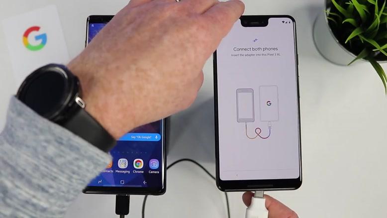 آموزش انتقال داده های Android یا iPhone به Google Pixel ۳