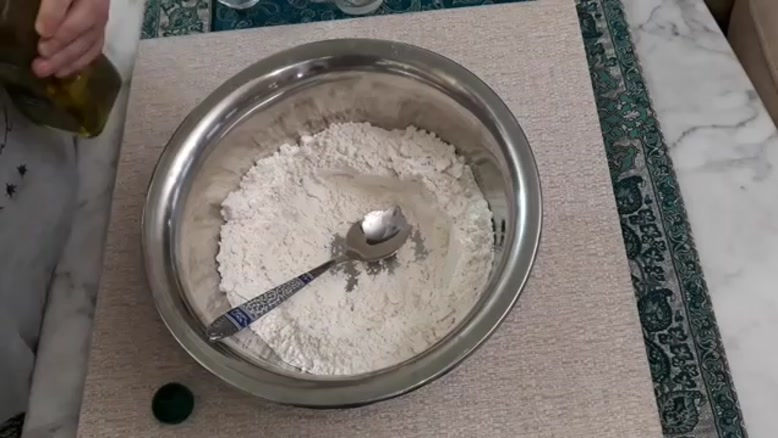 طرز تهیه  ی نان پیتا