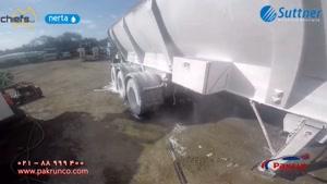 سِت لَنس دوقلو با قابلیت پاشش فوم و یا آب-شستشوی ماشین سنگین
