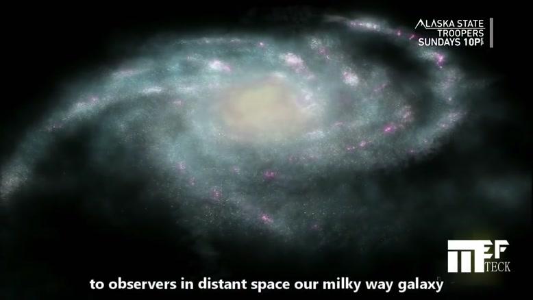 مرکزیترین نقطه کهکشان