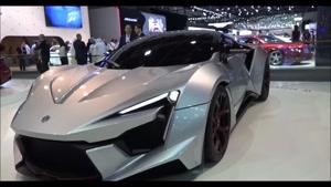 نمایشگاه ماشین های لوکس