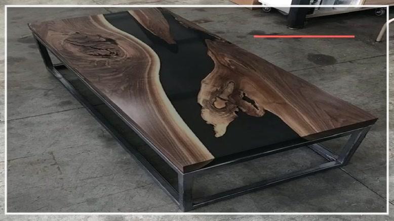 کامل ترین آموزش ساخت میز با رزین