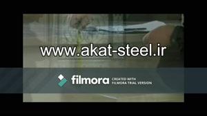 فیلم آموزشی مراحل تولید و مونتاژ نرده استیل /  قیمت نرده استیل