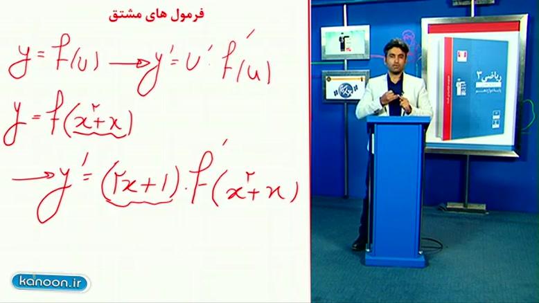 تدریس کامل مشتق در ریاضی دوازدهم تجربی از علی هاشمی