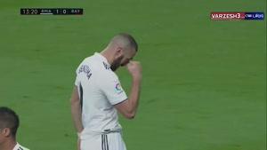 خلاصه بازی رئال مادرید 1 - رایو وایه کانو 0