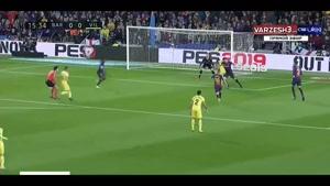 خلاصه بازی بارسلونا 2 - ویارئال 0