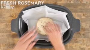 طرز تهیه نان رزماری و آویشن