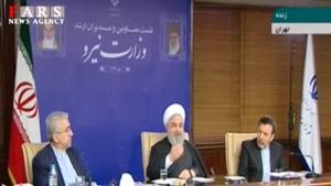 روحانی: امام با سه مشت آب وضو میگرفتند