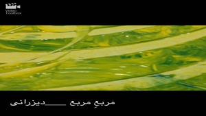 آموزش نقاشی خط ، نقاشیخط مدرن ، تکنیک روی بوم ، احمد دیزرانی