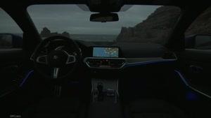 نمای داخلی خودرو بی ام دبلیو M330i