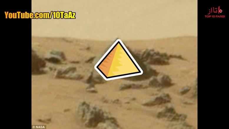 10 عکس از کره مریخ که عجیب و غیر قابل توصیف است!!