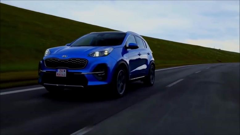 نمای داخلی و رانندگی با ماشین جدید کیا اسپورتیج مدل 2019