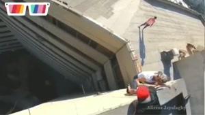 ویدئو جدید از مائده هژبری که کار خطرناکی می کند