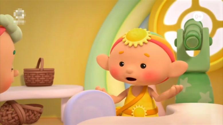 انیمیشن آموزش زبان انگلیسی Cloud Babies قسمت ده