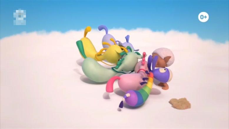 انیمیشن آموزش زبان انگلیسی Cloud Babies قسمت چهارده