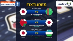آشنایی با تیم های گروه F جام ملت های آسیا ۲۰۱۹