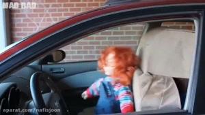دوربین مخفی ترسناک عروسک آنابل