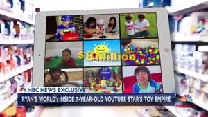 درامد ۲۲ میلیون دلاری یک کودک ۷ ساله از یوتیوب