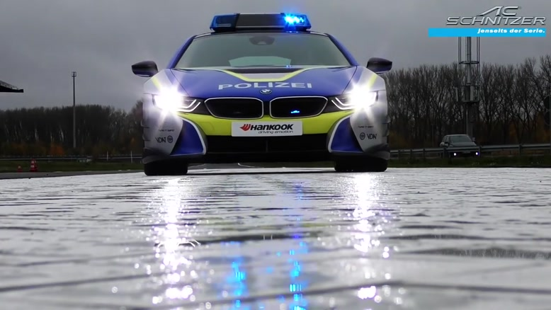 تیونینگ خودرو پلیس – پروژه جدید AC Schnitzer برمبنای ب ام و i۸
