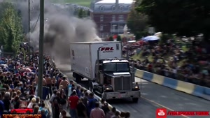 مسابقه کشیدن کامیون 2018